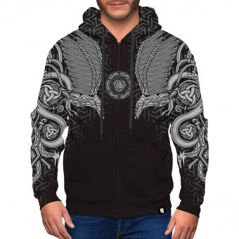 Viking Zip-Up Hoodie