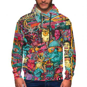 Fear and Loathing Premium Hoodie