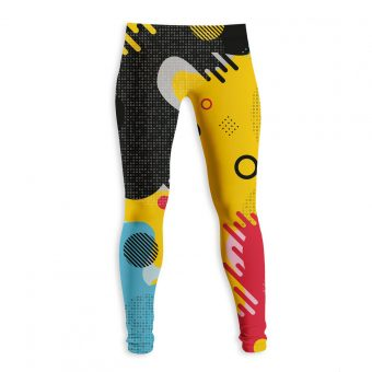Retro paint Legging