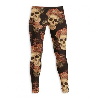 Skull and Roses Legging