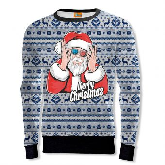 Christmas Cool Santa Sweatshirt