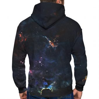 Deep Space Zip-Up Hoodie