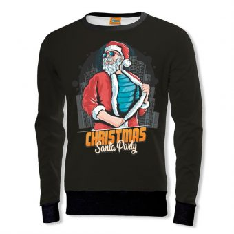 Christmas Santa Party Sweatshirt
