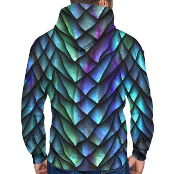 Dragon Scale Premium Hoodie