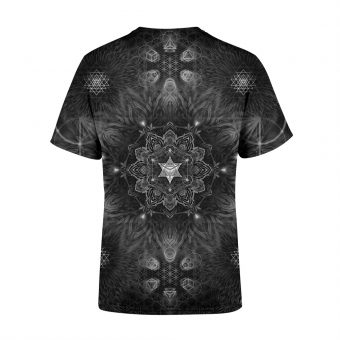 Black Sacred Geometry T-Shirt