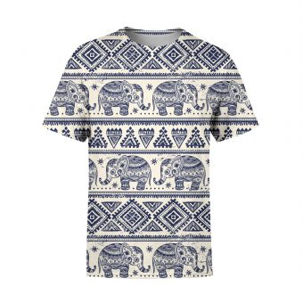 Elephants Mandala Premium T-Shirt
