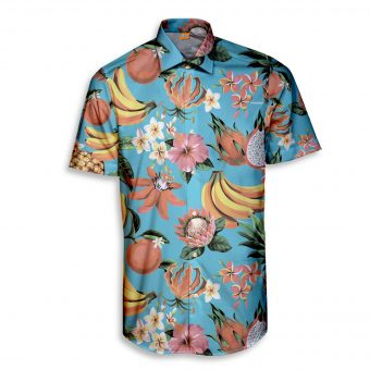 Flowers of the East Short Sleeve Shirt
