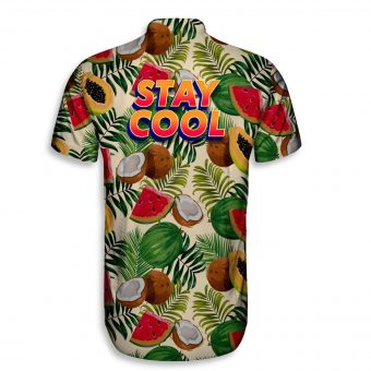Tropical Stay Cool Short Sleeve Shirt