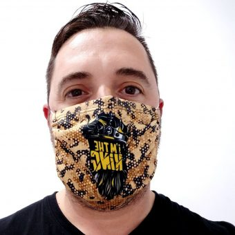 Face Mask Anti Dust I'm the King