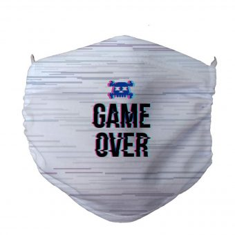 Face Mask Anti Dust Game Over