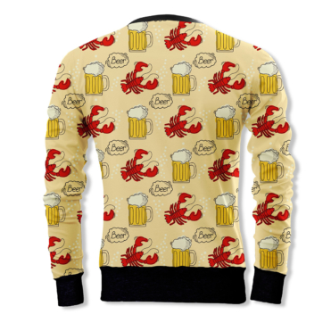 The Hipster and the lobster Sweatshirt